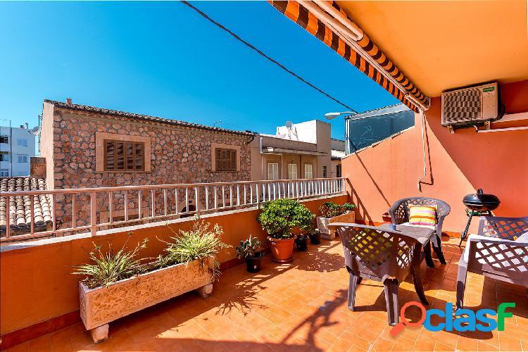 Venta piso de 3 habitaciones con terraza en Es Pil.larí -
