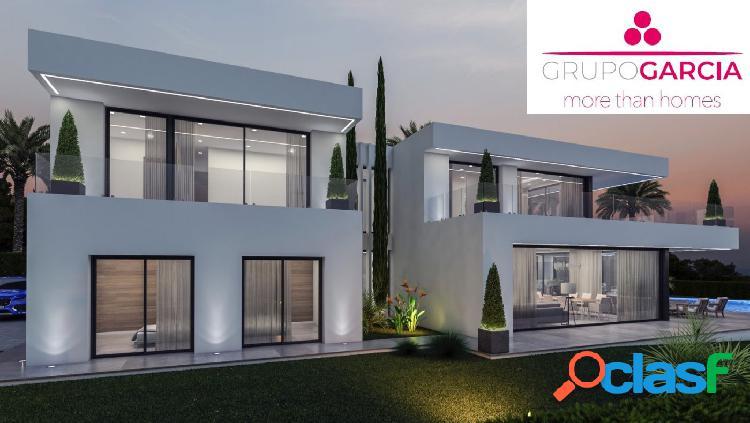 Villa de nueva construcción en venta en Javea con vista al