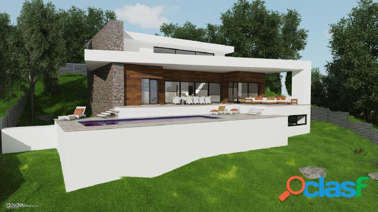 Villa moderna en proceso de final obra en venta en Javea