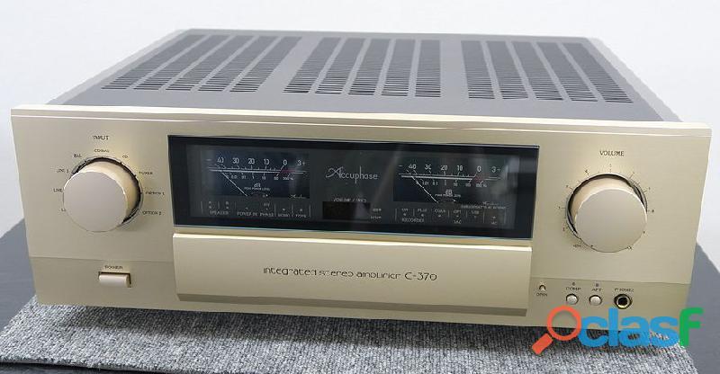 Amplificador ESTÉREO Accuphase E 370 2015