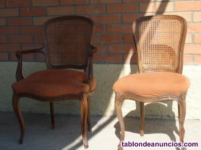 Jgo sillas antiguas