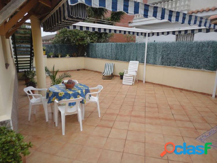 CASA ADOSADA EN VENTA EN CUNIT, MASIA TORRENTS DE 66 m2 EN