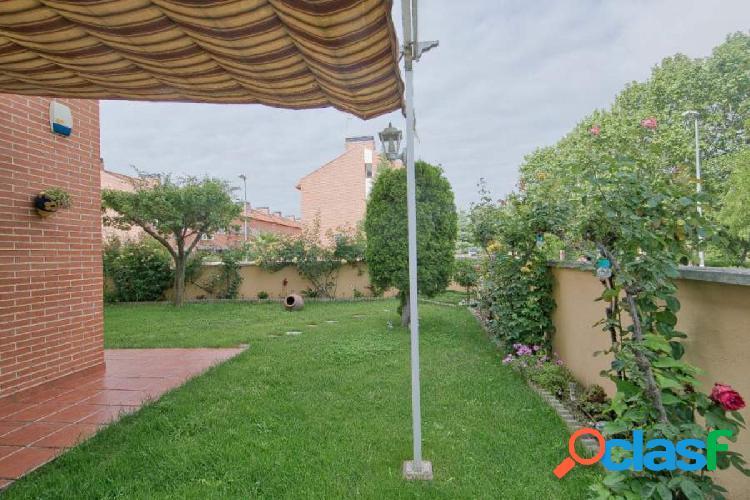 Exclusivo piso en Alcala de Henares, con jardin de esquina