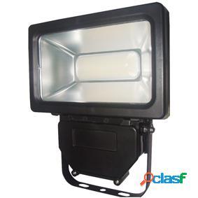 Luz led fluorescente 30 w 1600 lm negro