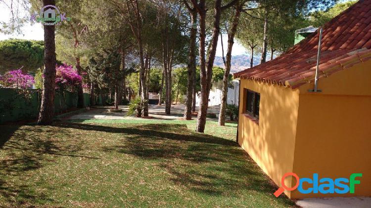 Parcela 1250 m2 urbanizable en Pinos de Alhaurin, con casita
