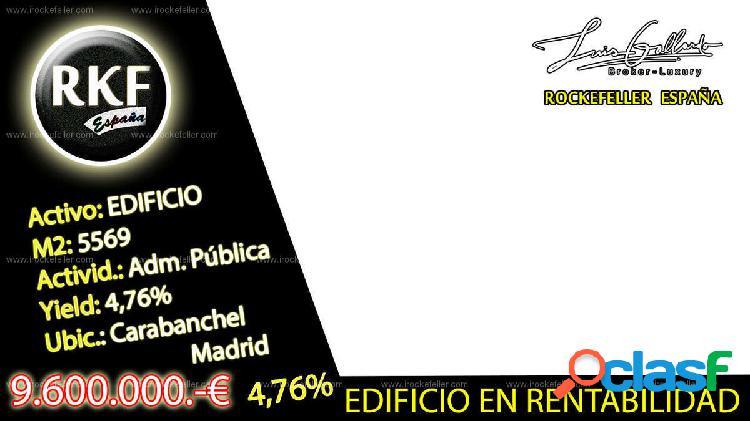 Venta Edificio - Madrid [223269/Edificio Rentabilidad]