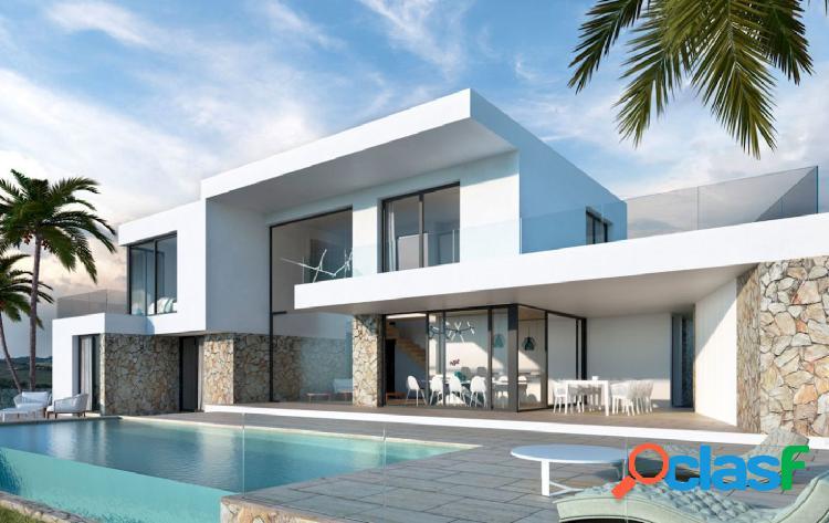 Villa moderna de nueva construcción a la venta en Moraira