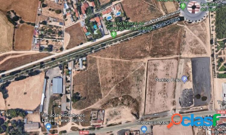 Se vende terreno urbanizable con casa