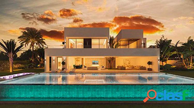 Parcela en la mejor zona de Marbella con vistas al mar