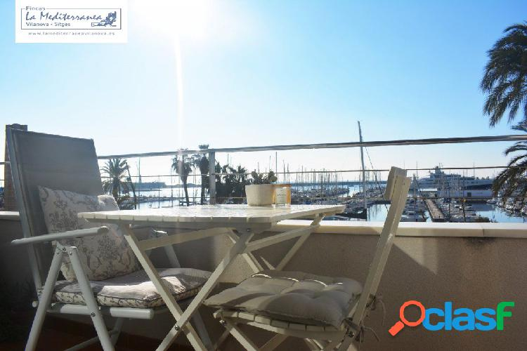 Piso de diseño en primera linea de Mar, Vilanova i La