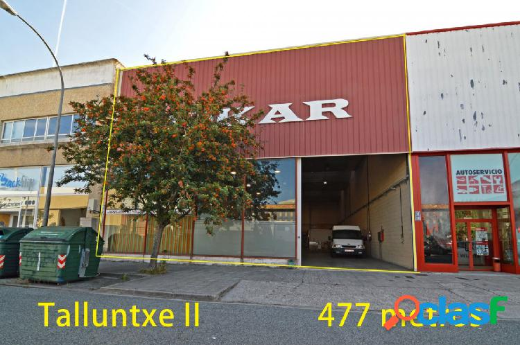 PI Talluntxe II, Nave 477m