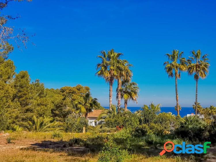 Parcela Javea con vistas al mar