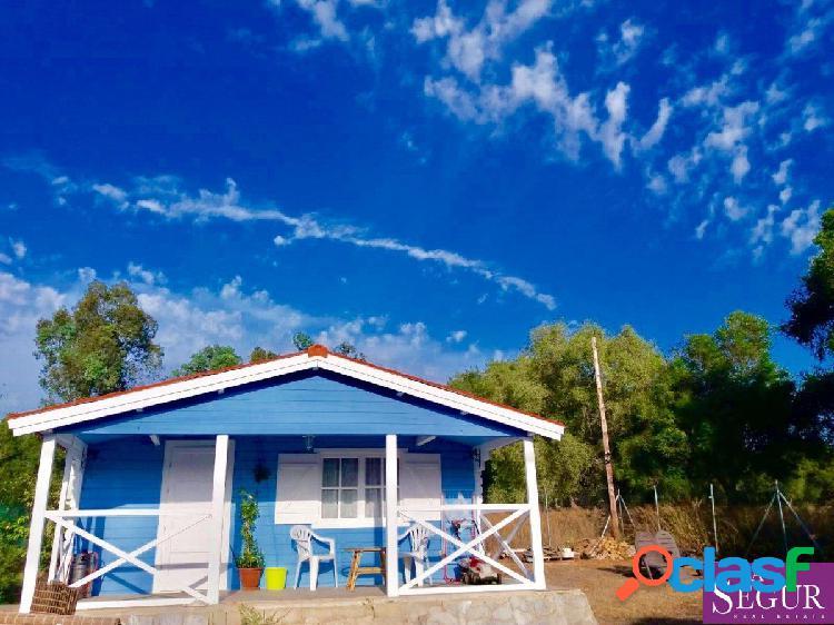Preciosa casa de madera en El Soto