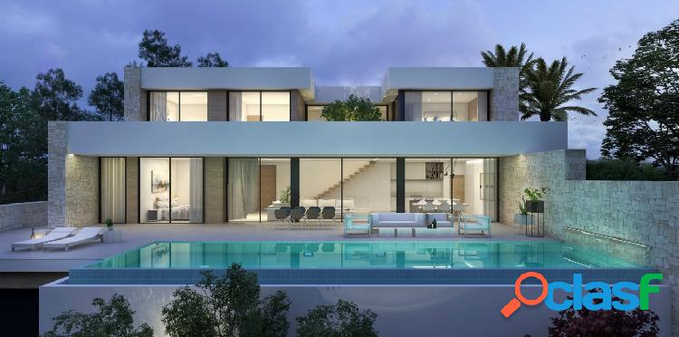 Villa moderna con vistas al Mar en Moraira BV3066A