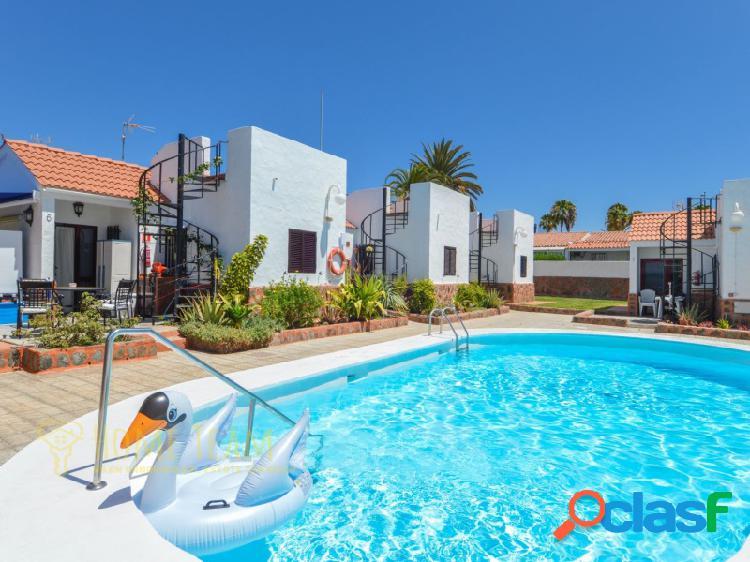 Bonito bungalow con amplio jardín en Playa del Inglés!