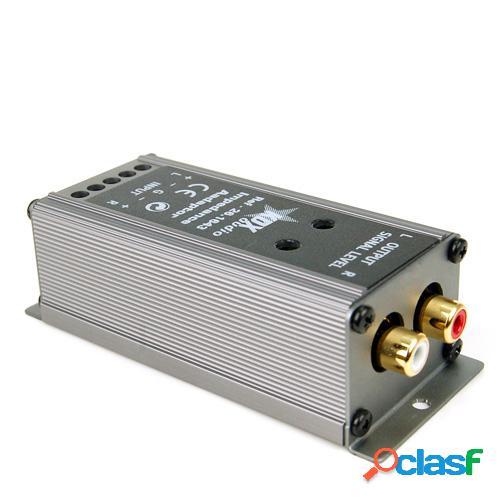 Adaptador universal de cable a rca (alta a baja), kdx
