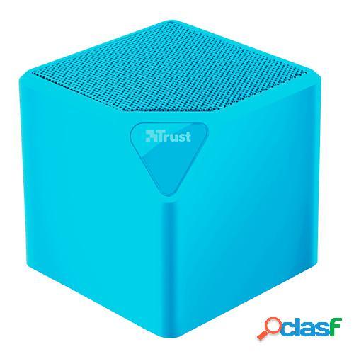 Altavoz bluetooth trust primo neon blue micro sd/usb