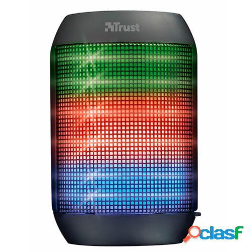 Altavoz bluetooth trust ziva party lights c/luces