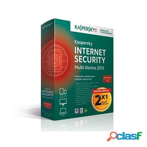Antivirus kaspersky internet security 2015 2 usuarios