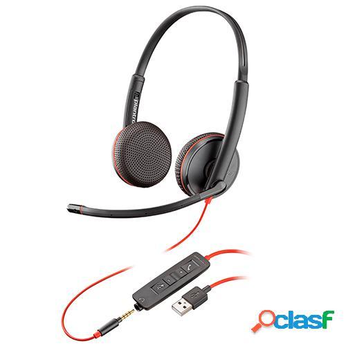 Auricular plantronics usb blackwire c3220 209745-101