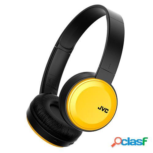 Auriculares diadema jvc ha-s30bt-y amarillo
