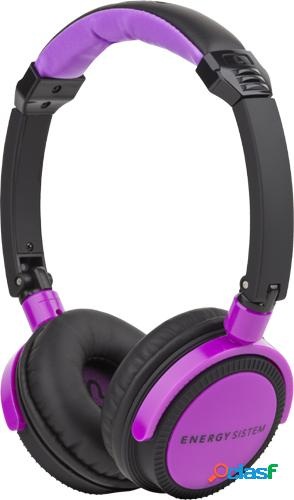 Auriculares energy sistem dj400 black violet