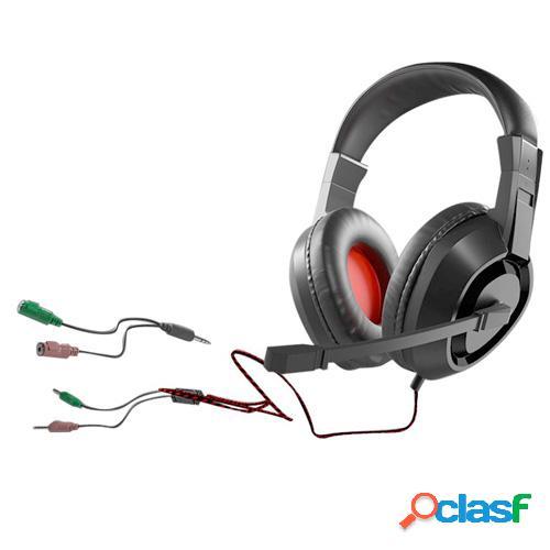 Auriculares gaming c/micro tacens mh217 para pc y ps4 mars