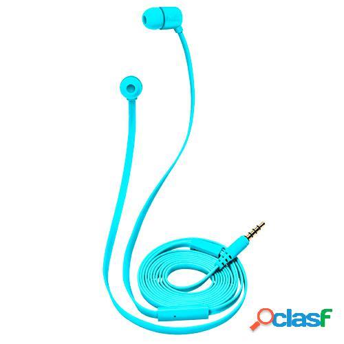 Auriculares intrauditivos trust duga neon blue c/micro