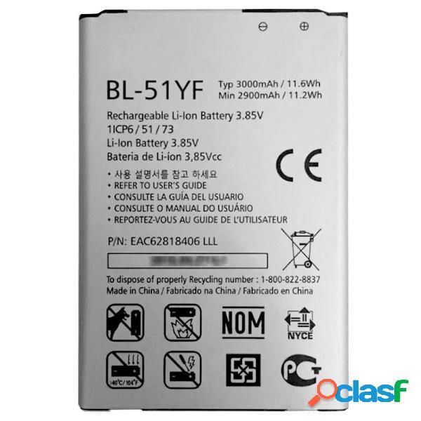 Bateria lg bl-51yf para g4