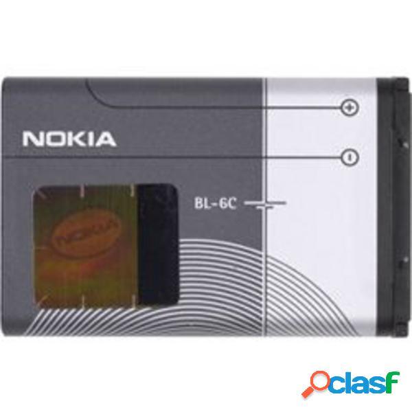 Bl-6c bateria original para nokia 6265/6275/2865/e70