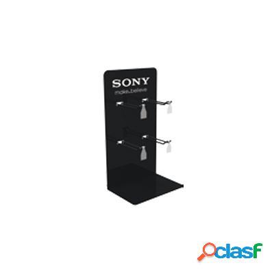 Expositor sony para pilas/baterias 4 ganchos pedido minimo