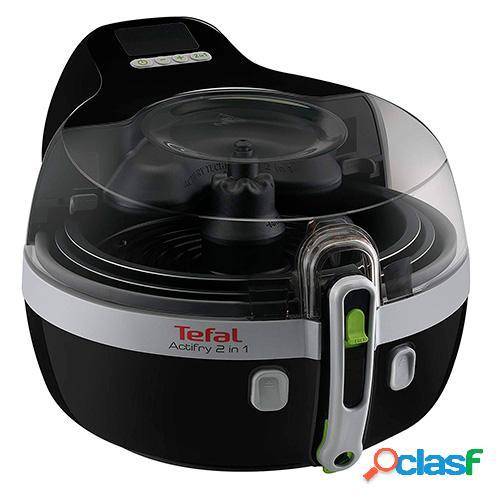 Freidora tefal actifry yv960120, cocina sana 2 en 1, negra,