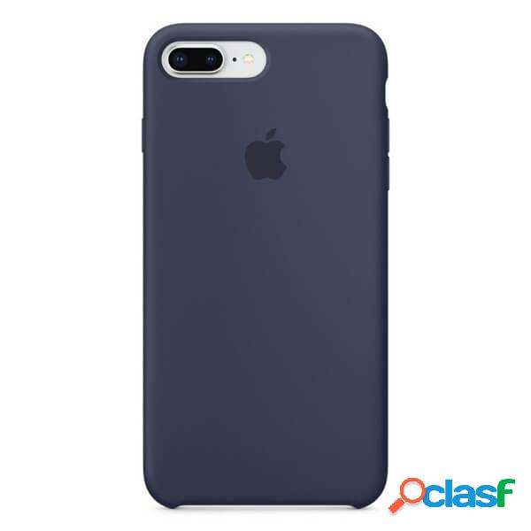 Funda de silicona azul para iphone 8 plus / 7 plus