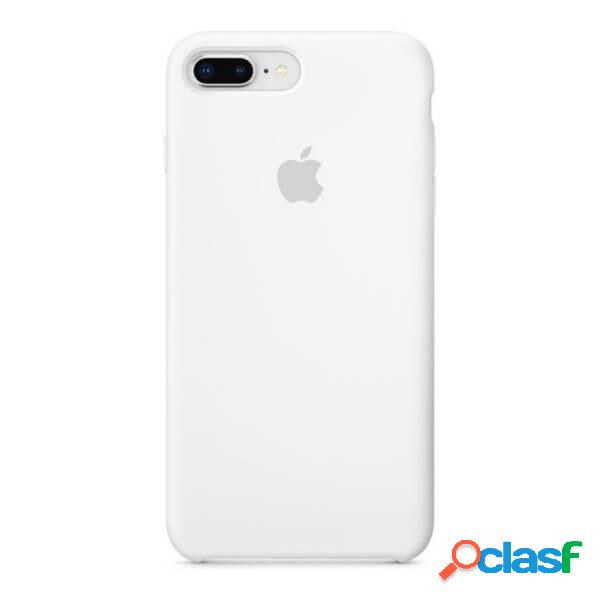 Funda de silicona blanca para iphone 8 plus / 7 plus