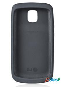 Funda de silicona lg ccr-220 negra