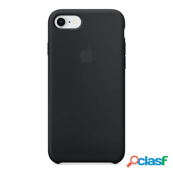 Funda de silicona negra para iphone 7 y iphone 8 mqgk2zm