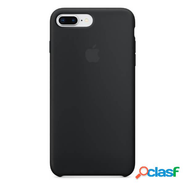 Funda de silicona negra para iphone 8 plus / 7 plus