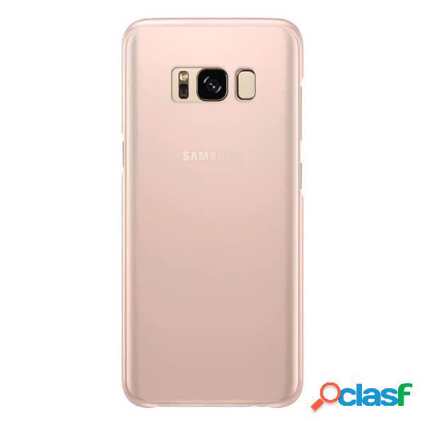 Funda de silicona para samsung galaxy s8 plus rosa