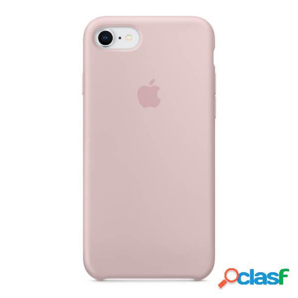 Funda de silicona rosa para iphone 8 / 7