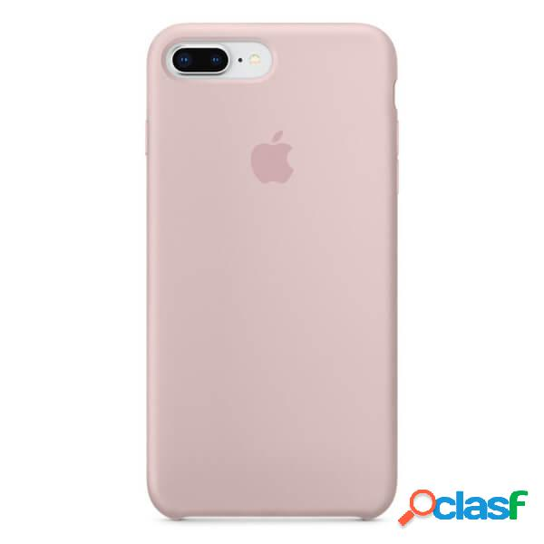 Funda de silicona rosa para iphone 8 plus / 7 plus