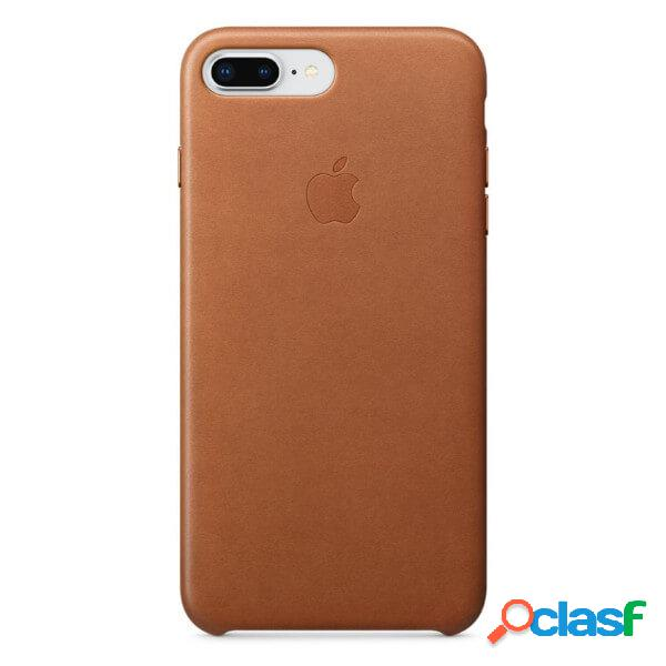 Funda leather case marron para iphone 8 plus / 7 plus