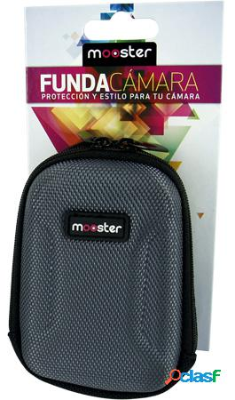 Funda mooster camara fotos digital gris mbc54-gy