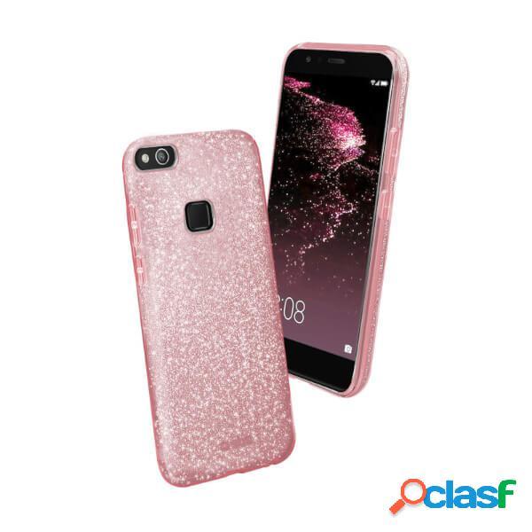 Funda sparky rosa de silicona huawei p10 lite