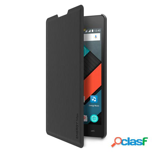 Funda tipo libro energy sistem phone max 4g negra
