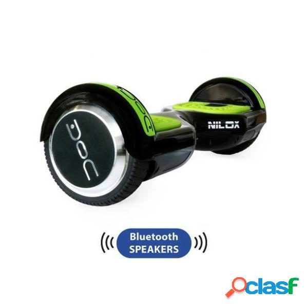 Hoverboard doc plus 6.5 bluetooth scooter electrico verde y