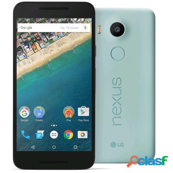 Lg google nexus 5x azul hielo 32 gb libre