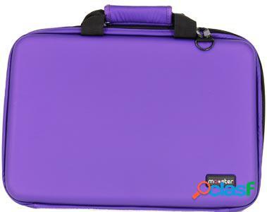 Maletin mooster semirigido goma eva violet hasta 15,6 para