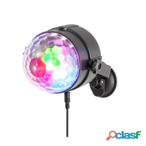 Mini bola de discoteca ngs usb party lights spectra rave
