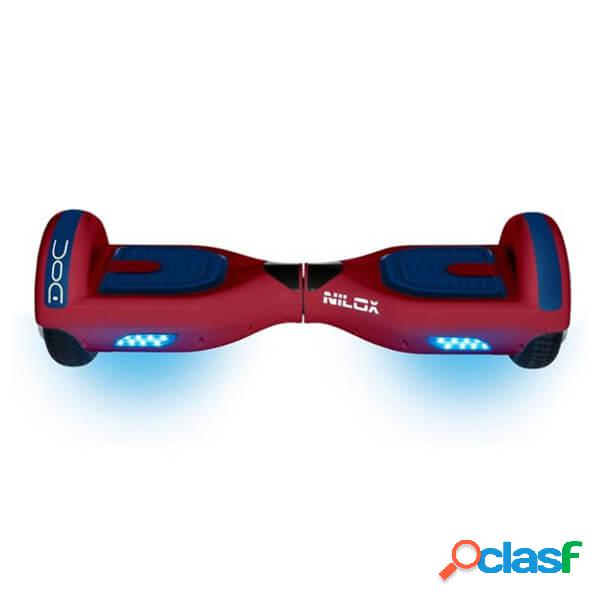 Nilox hoverboard doc 6.5 scooter electrico rojo
