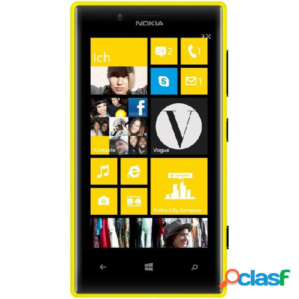Nokia lumia 720 libre amarillo